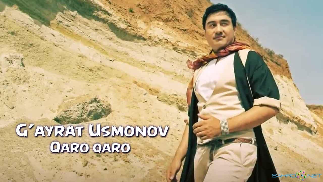 G'ayrat Usmonov - Qaro qaro Янги Узбек Клип 2015