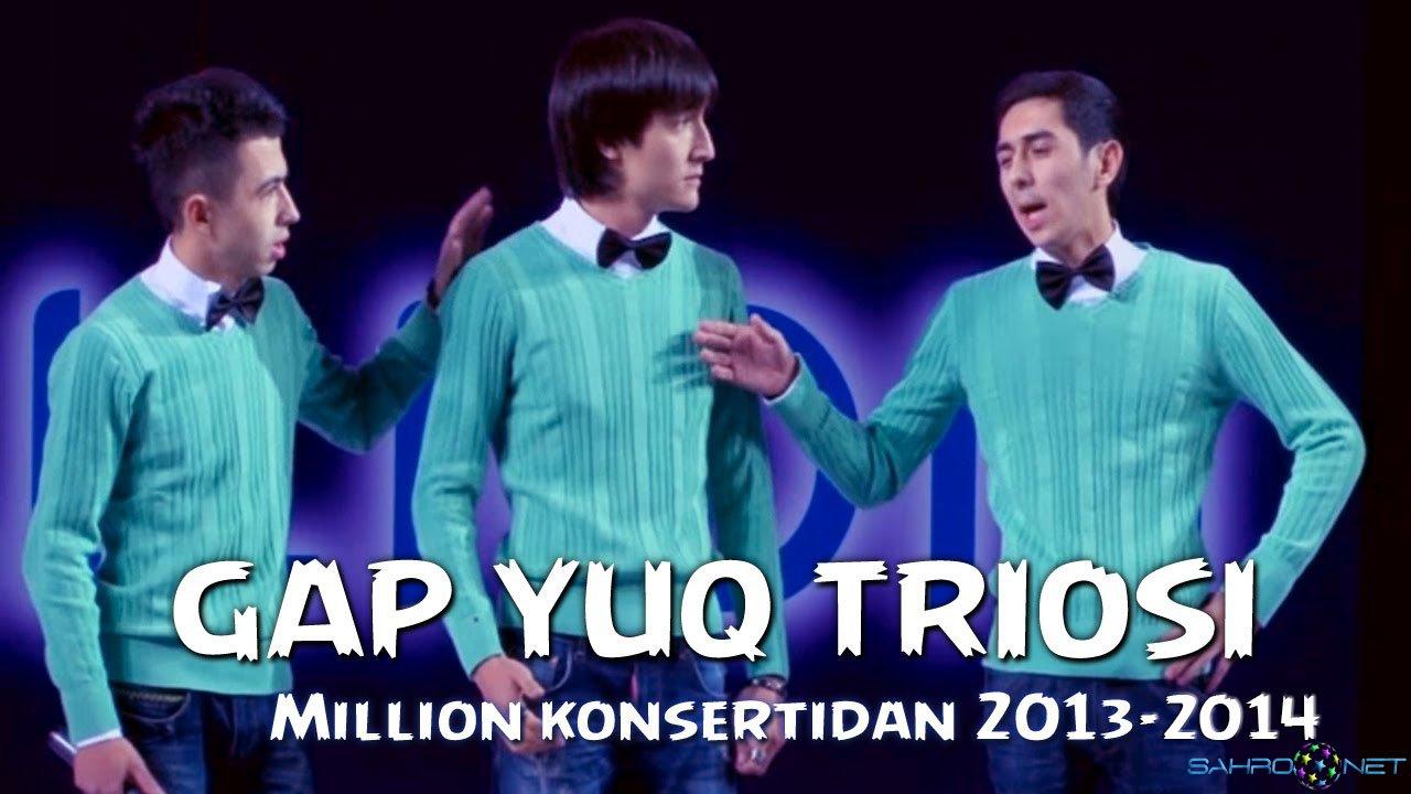 Million Jamoasi - Gap Yoq Triosi Hazillari 2013-2014 Узбек Юморлари онлайн бесплатно