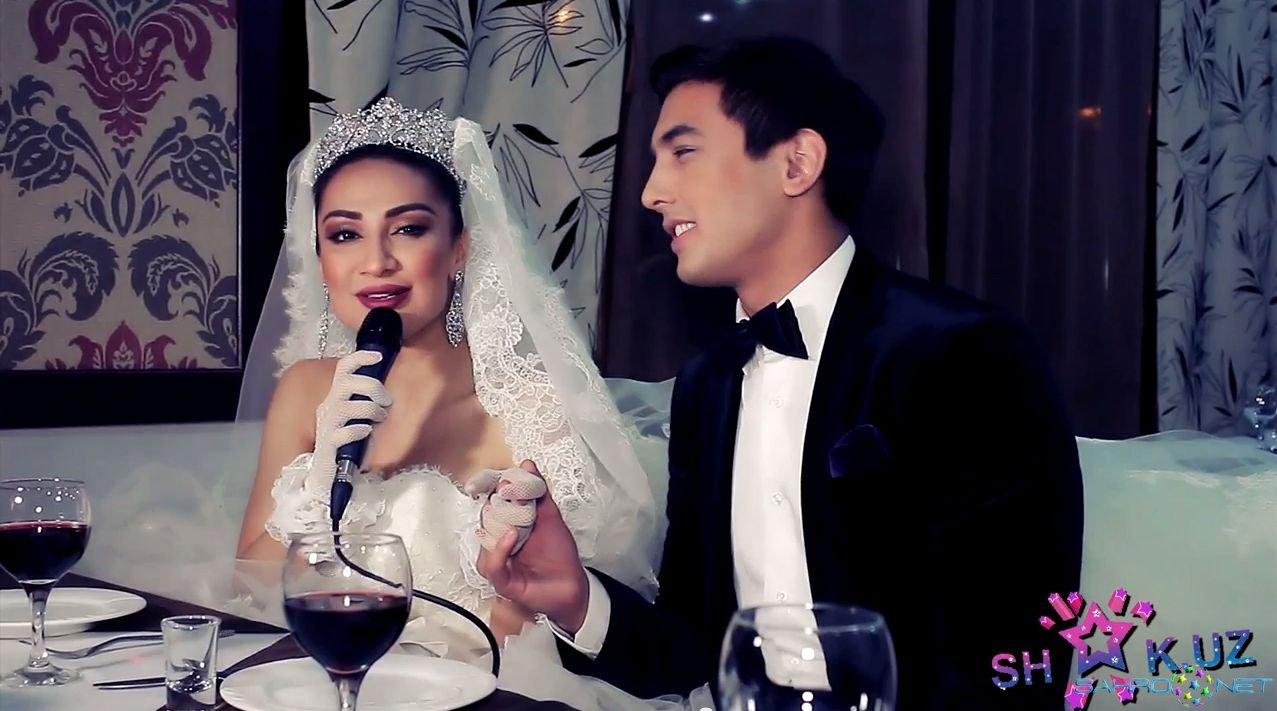 Munisa Rizaeva o'z to'yida karaoke kuyladi 2015 Premyera