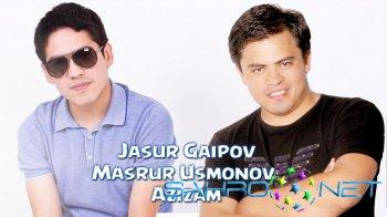 Jasur Gaipov va Masrur Usmonov - Azizam (Jonli karaoke video)