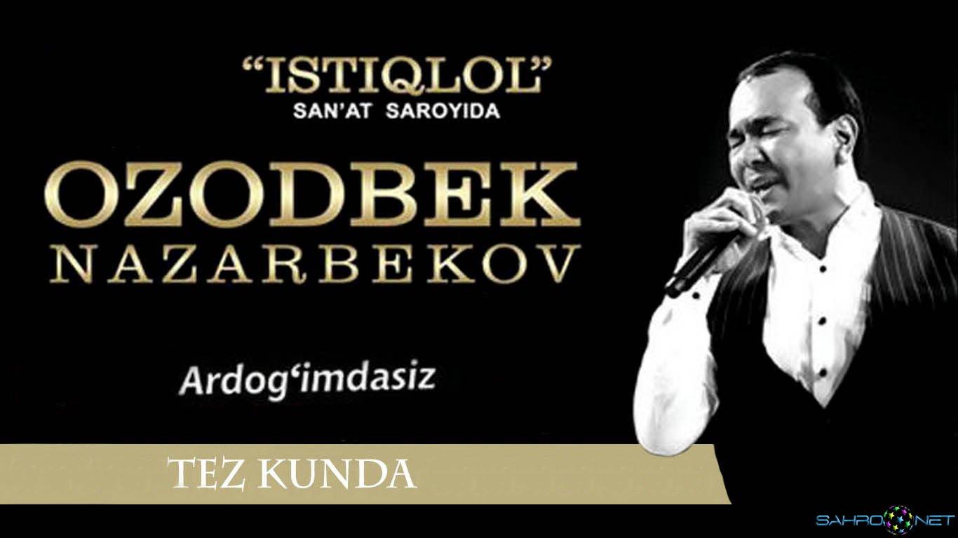 Ozodbek Nazarbekov - Ardog'imdasiz nomli konsert dasturi (treyler) 2015