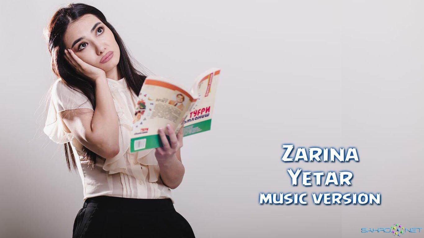 Zarina Nizomiddinova 2015 - Yetar (new music) 2015