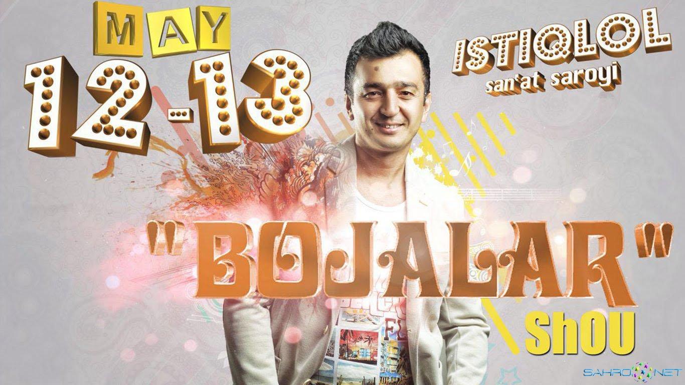 Bojalar SHOU konsert dasturi 2015