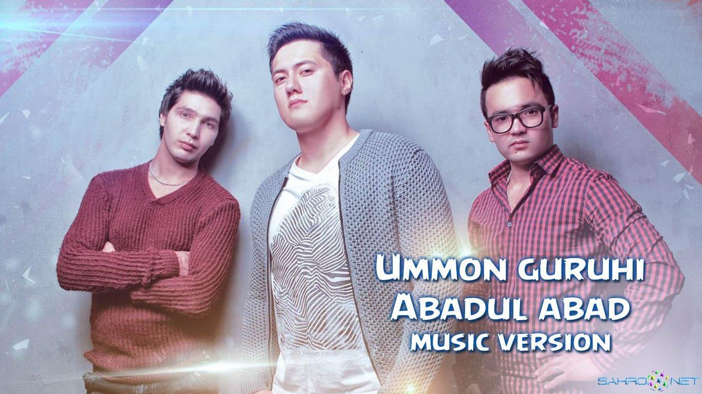Ummon guruhi 2016 - Abadul abad (new music)