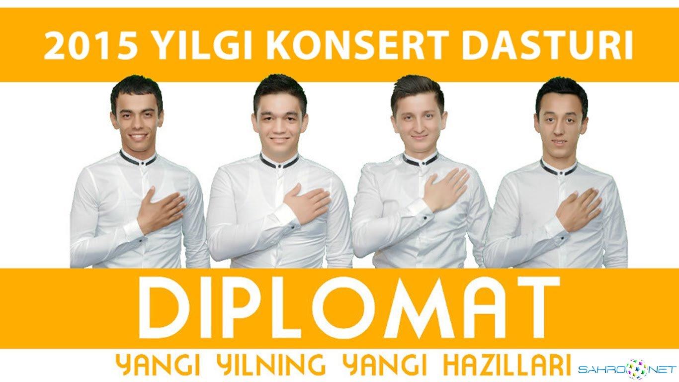 """Diplomat jamoasi - """"Yangi yilning yangi xazillari"""" konsert daturi 2015"""