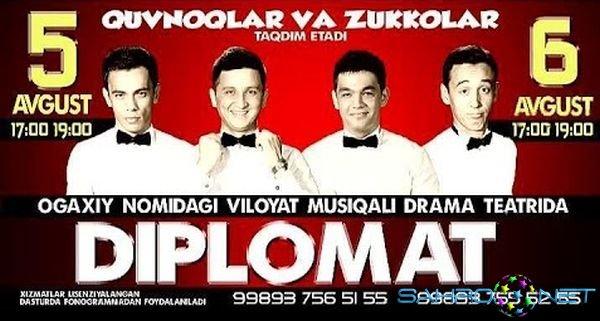 Diplomat jamoasi - Yozgi SHOU yangi uzbek konsert 2016