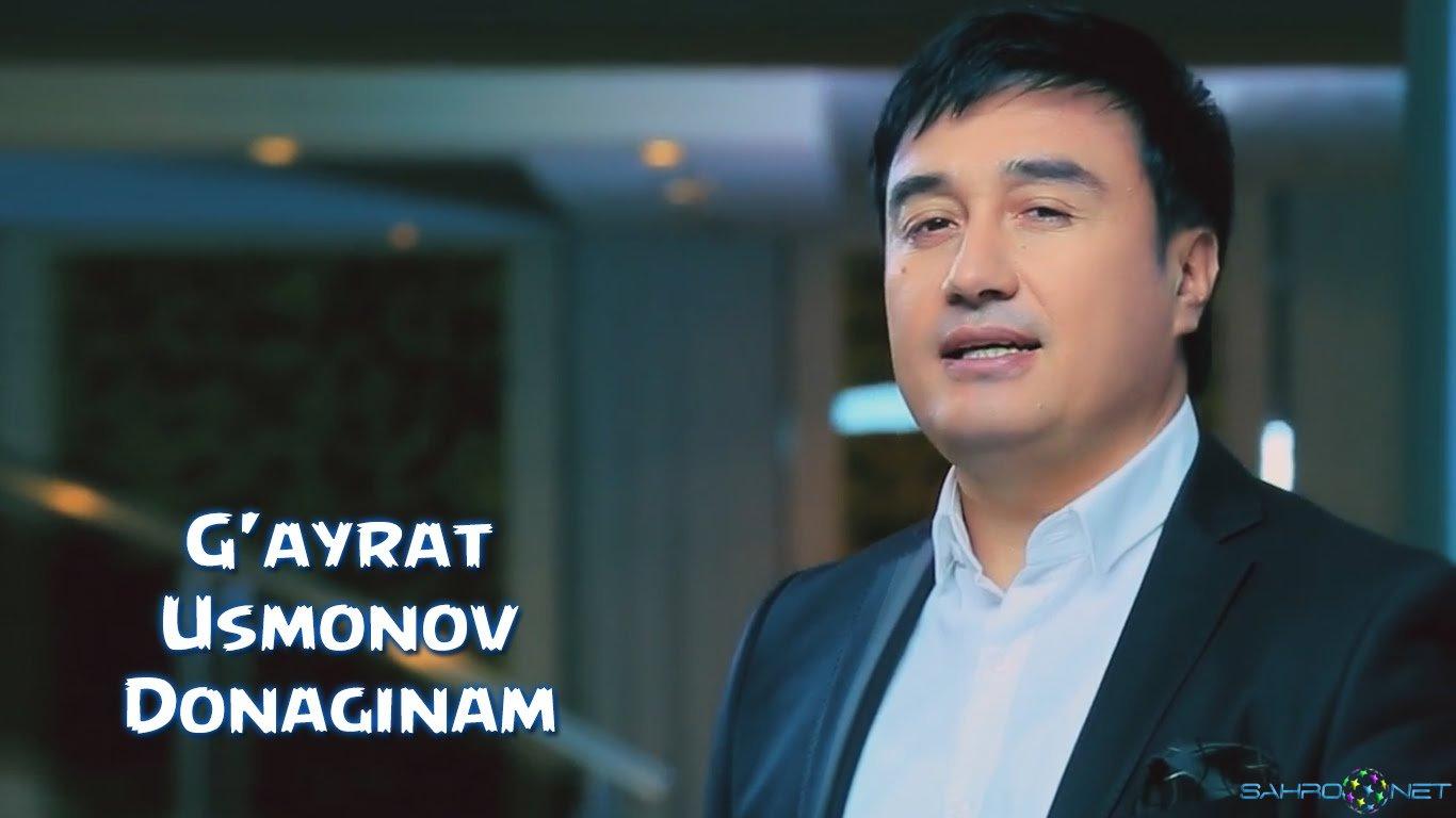 G'ayrat Usmonov - Donaginam 2016 узбек клип