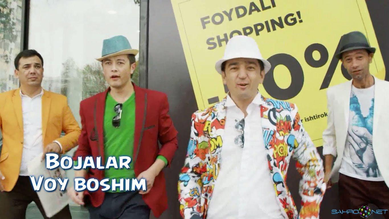 Bojalar - Voy boshim Узбек Клип 2016