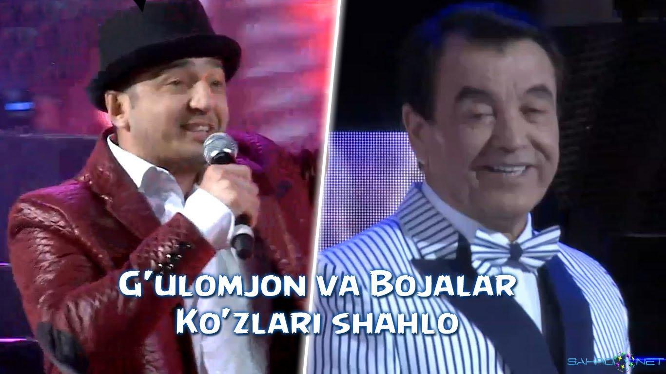 G'ulomjon Yoqubov va Bojalar - Ko'zlari shahlo (concert version) 2016