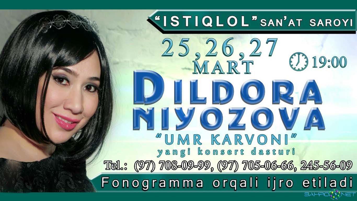 Dildora Niyozova 2016 - Umr karvoni konsert